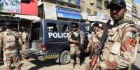 قائدآباد اور شاہ لطیف ٹاؤن میں پولیس اور رینجرز کا مشترکہ سرچ آپریشن