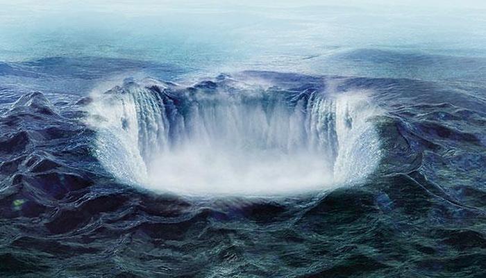 سمندر کی تہہ سے کھربوںٹن پانی زمین کی گہرائی میںجانیکا انکشاف