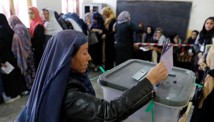 افغان پارلیمانی انتخابات، کابل میں ڈالے گئے تمام ووٹ کالعدم قرار