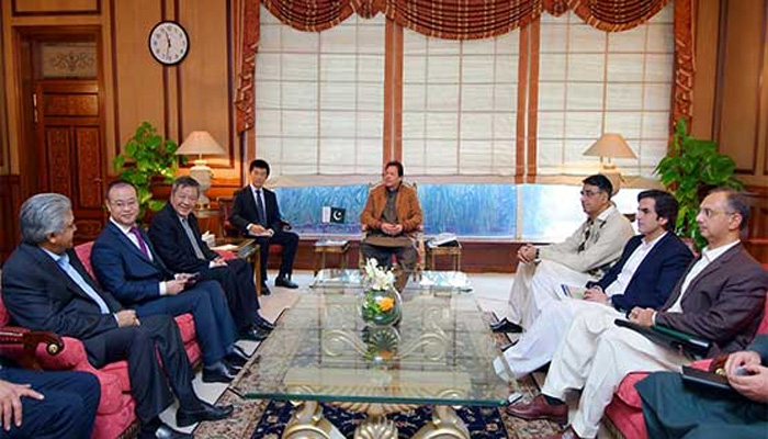وزیر اعظم سے شنگھائی الیکٹرک وفد کی ملاقات،پاورسیکٹرمیں سرمایہ کاری کی خواہش کااظہار