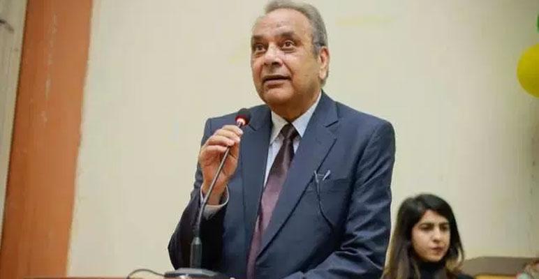 جامعہ کراچی کے وائس چانسلر ڈاکٹر اجمل خان اسپتال میں داخل