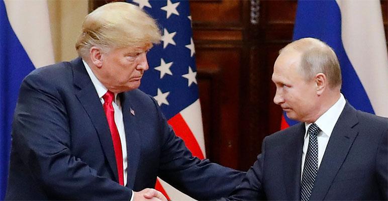 ٹرمپ نے روسی صدر سے ملاقات کی تفصیلات خفیہ رکھیں، امریکی میڈیا، رپورٹ بکواس ہے، ٹرمپ