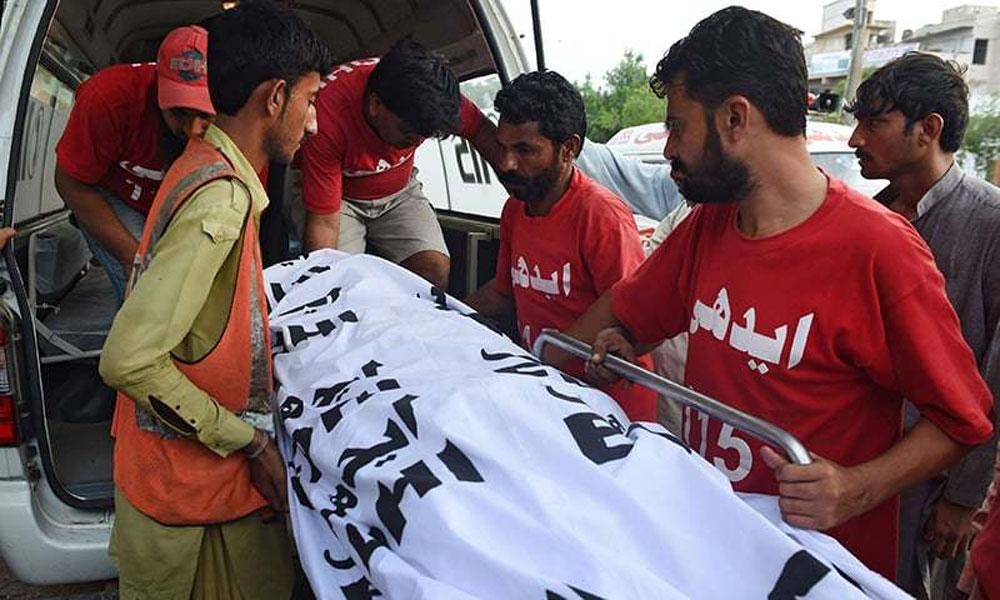 عمررسیدہ شخص کی لاش ملی، دیگر واقعات میں خواتین سمیت 3 جاں بحق