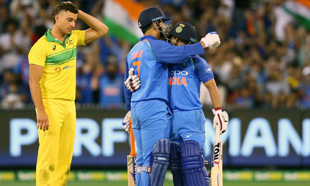 فارمیٹ تبدیل: آسٹریلیا کی قسمت نہ بدلی، بھارت نے ون ڈے سیریز جیت لی