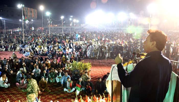 وفاق سے استحکام پاکستان کا معاہدہ، وقت آگیا وزیراعظم وعدے پورے کریں، حیدرآباد میں ایم کیو ایم کا جلسہ