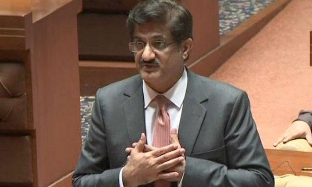 وفاقی حکومت سندھ کے منصوبے کی تکمیل میں سنجیدہ نہیں، مراد علی شاہ