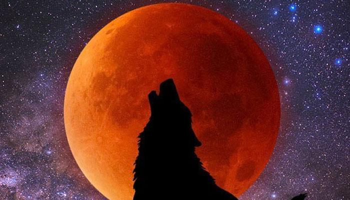 'خونخوار بھیڑیے کا چاند' گرہن کا آغاز ہوگیا