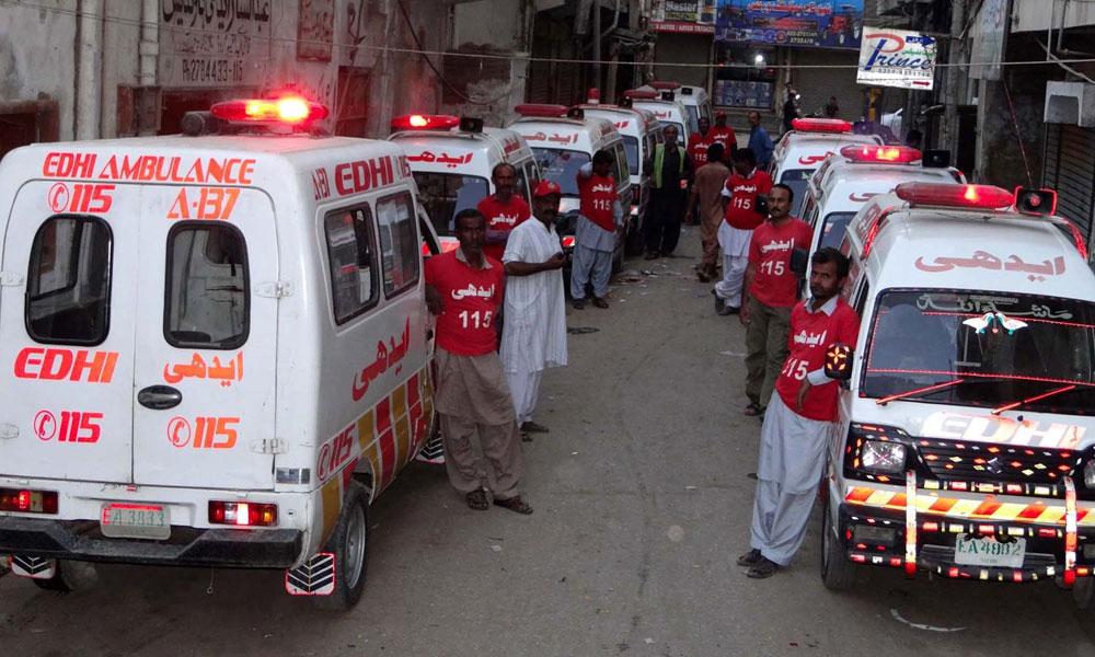 مختلف حادثات وواقعات میں 6 افراد ہلاک، 20زخمی