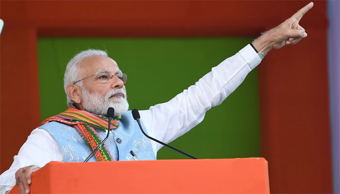 بھارت میں فوجی بغاوت کبھی نہیں ہوگی، مودی کا عزم