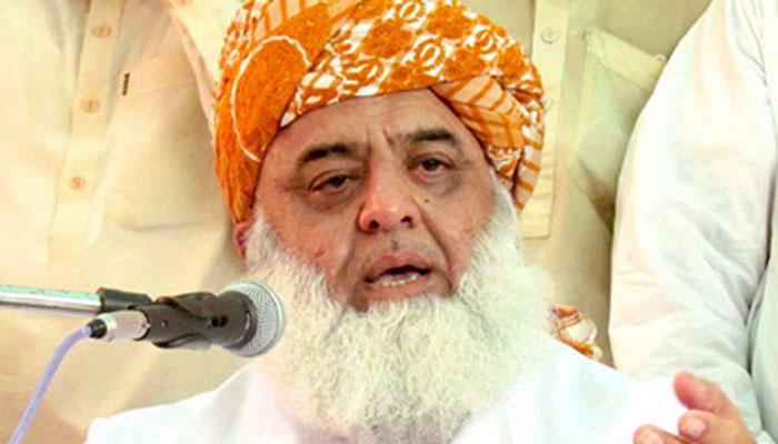 مولانا فضل ا لرحمٰن کا حکومت کے خلاف اسلام آباد کی جانب ملین مارچ اور دھرنے پر غور