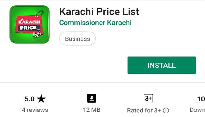 اشیائے خورد و نوش کی قیمتوں کو کنٹرول کرنے کیلئے ایپ تیار