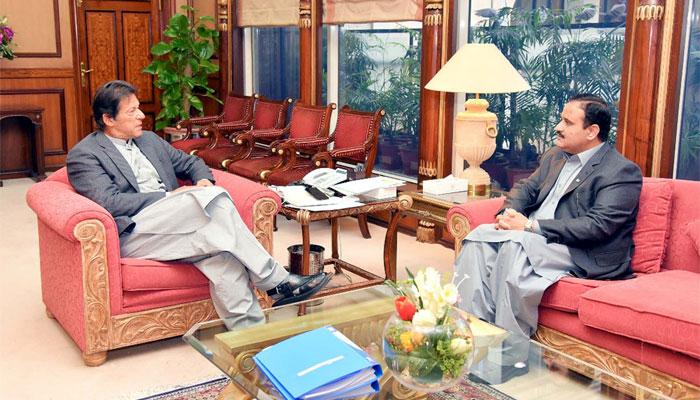 وزیراعظم سے وزیراعلیٰ پنجاب کی ملاقات
