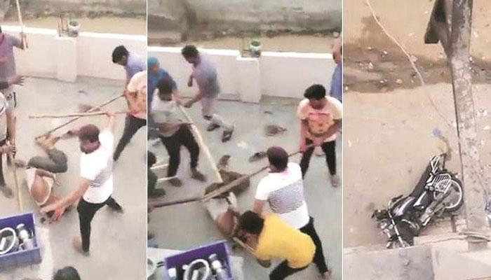 بھارت کا اصل چہرہ، ہولی پر کرکٹ کھیلنا ہے تو پاکستان جاؤ، گڑ گاؤں میں مسلمان خاندان پر انتہا پسند ہندوؤں کا تشدد