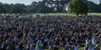مسجد حملہ، نیوزی لینڈ کے ہزاروں شہری اظہار یکجہتی کیلئے پھر جمع