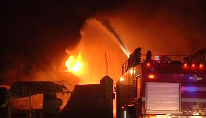 گارمنٹس فیکٹری میں آگ سے دوسری فیکٹر ی بھی متاثر،2 افراد زخمی