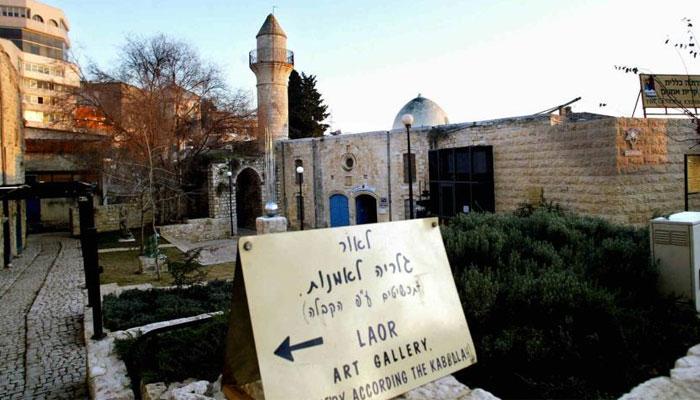 اسرائیل نے تاریخی مسجدالاحمرکو نائٹ کلب میں تبدیل کردیا