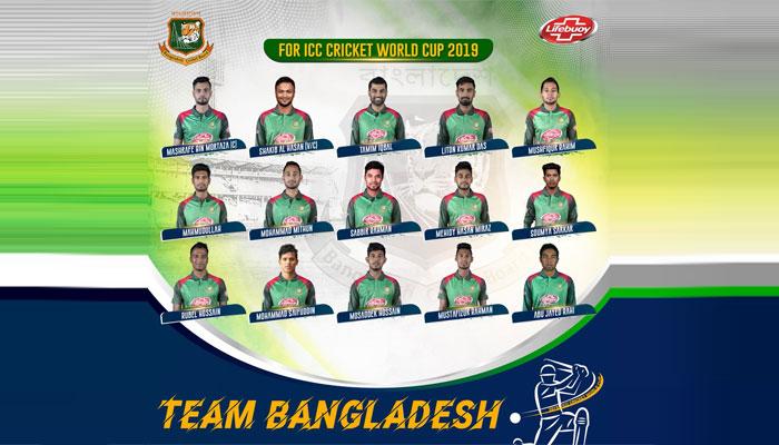 ورلڈکپ کیلئے مصدق بنگلہ دیش کرکٹ ٹیم میں واپس،تسکین آئوٹ