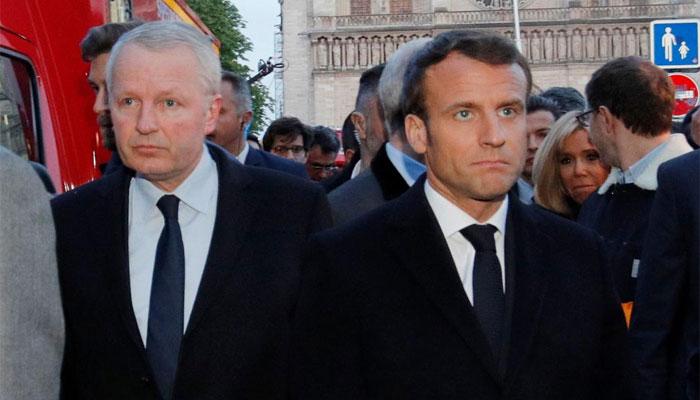 فرانسیسی صدر کا آگ سے متاثرہ قدیم تاریخ چرچ کی تعمیر نو کا اعلان، واقعہ پر عالمی رہنمائوں کا اعلان، واقعہ پرعالمی رہنمائوں کا اظہار افسوس