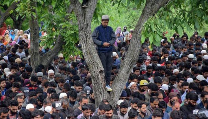 مقبوضہ کشمیر، بھارتی فوج کی جارحیت، 8 شہید، عالمی برادری نوٹس لے، پاکستان