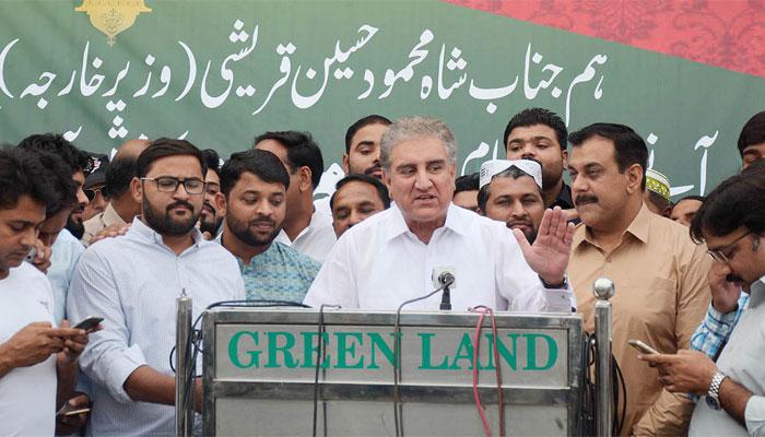 احتجاج کا کوئی فائدہ نہیں، اپوزیشن شوق پوراکرلے، شاہ محمود