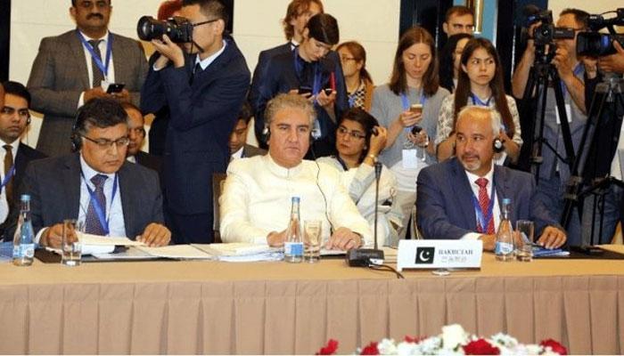 شنگھائی تعاون تنظیم کا اجلاس، دہشت گردی کی وجوہ ختم کرنا ہوں گی، شاہ محمود، خلا میں ہتھیاروں کے استعمال پر تشویش