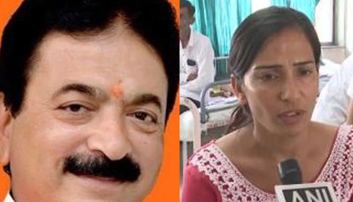 بھارت، بی جے پی کے رکن اسمبلی کا خاتون پر سرعام تشدد
