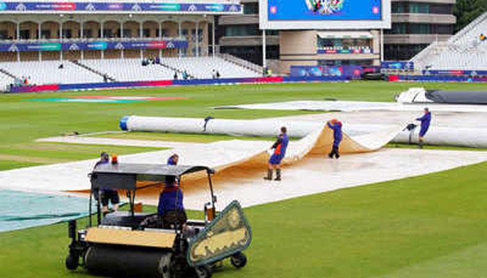 پاکستان، بھارت میں آج کرکٹ ورلڈکپ کا میچ بارش کی نذر ہونے کا امکان