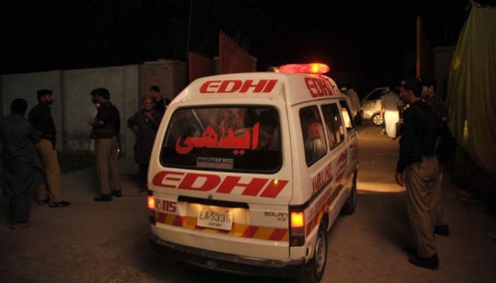 شہدادپور:ٹریکٹر ٹرالی تلے دب کر ڈرائیور ہلاک