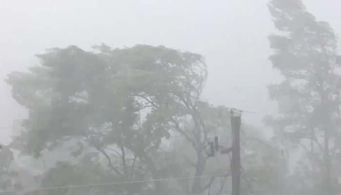سامارو اور گردونواح طوفانی ہوائوں اور گردوغبار کی لپیٹ میں