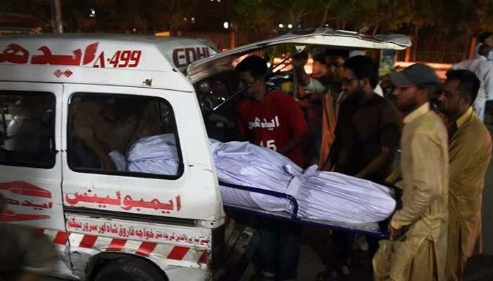 نہرمیں ڈوبنے والے موٹرسائیکل سوار 5 میں سے 4 افراد کی لاشیں برآمد