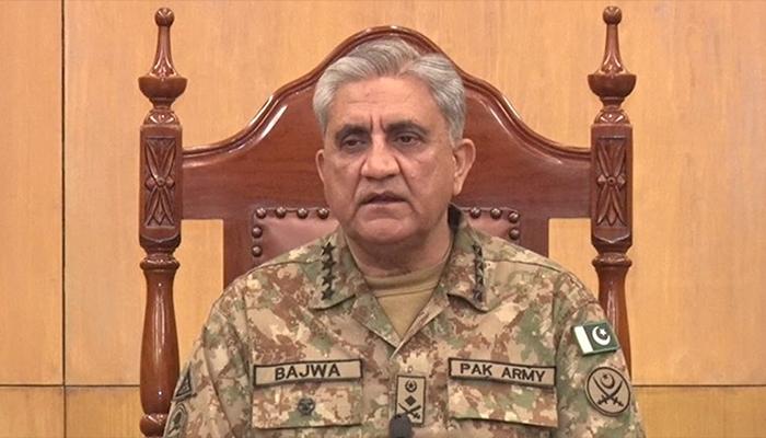 بھارت کچھ بھی کرسکتاہے،کتنابھی وقت لگے،ہر چیلنج کابرابری سے مقابلہ کرینگے،جنرل باجوہ