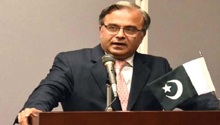 افغان سرحد سے پاکستانی فوج کشمیرمنتقل کی جاسکتی ہے، امریکا میں پاکستانی سفیر