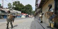 مقبوضہ کشمیر، نماز جمعہ سے روکنے پر لوگوں نے کرفیو توڑ دیا