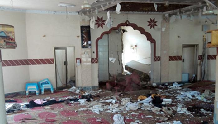کوئٹہ، مسجد میں بم دھماکہ!