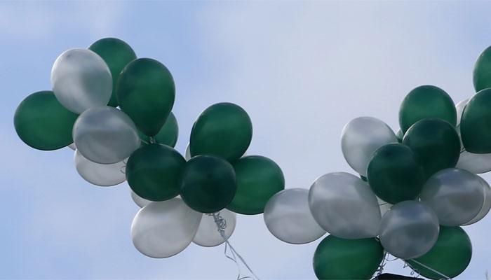 پاکستانی پرچم کے رنگ والے غبارے نے بھارت میں سنسنی پھیلادی