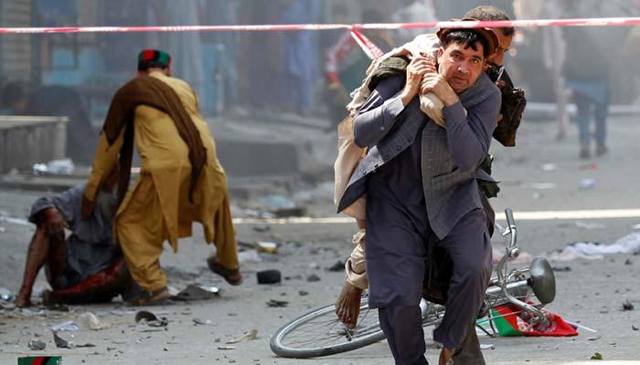 افغانستان ، 100 ویںیومِ آزادی پر دھماکے، 66 افراد زخمی