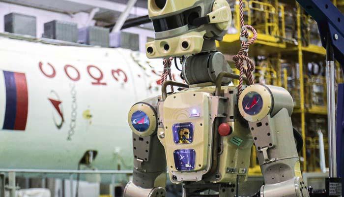 انسان نما روبوٹ لیجانے والا روسی خلائی بین الاقوامی خلائی اسٹیشن سے منسلک ہونے میں ناکام
