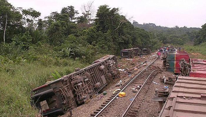 کانگو: ٹرین حادثہ،50 افراد ہلاک،متعدد زخمی