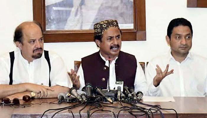 آرٹیکل 149کے تحت وفاق سندھ حکومت کو ڈائریکشن دیگا،حلیم عادل شیخ