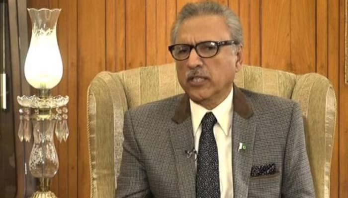 کچراہرجگہ 'میڈیا نے کراچی میںیہ مسئلہ زیادہ اجاگرکیا'صدرعلوی