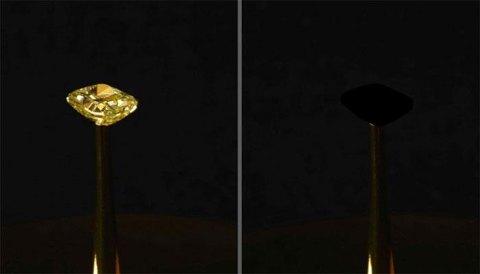 سیاہ ترین میٹریل تیار، 99.995فیصد تک روشنی کو جذب کرلیتا ہے