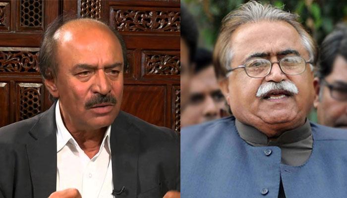پی ٹی آئی کراچی چھین کر وفاق کو دینا چاہتی ہے، نثار کھوڑو، مولا بخش چانڈیو
