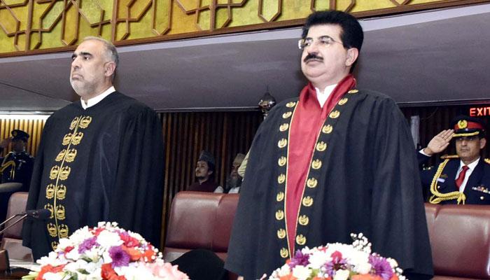 جمہوریت پائیدار امن اور ترقی کا پیش خیمہ ہے،صادق سنجرانی ،اسد قیصر