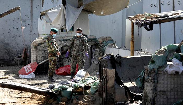 افغان صد ر کی انتخابی ریلی، خودکش دھماکے، 48 ہلاک، پاکستان کا اظہار مذمت