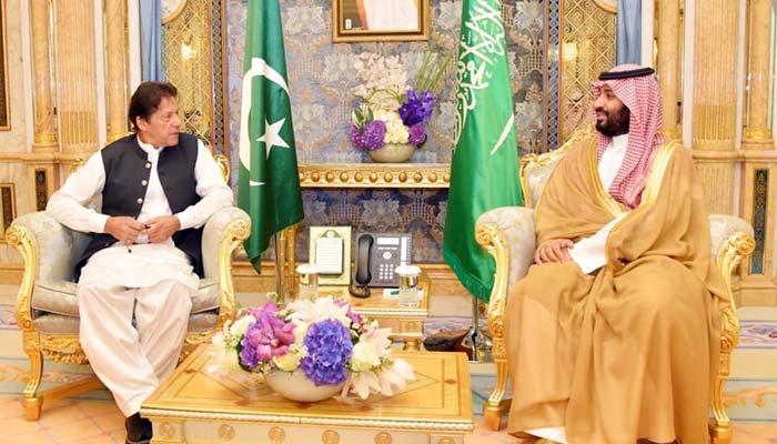 پاکستان اور امریکا سعودیہ کیساتھ، ولی عہد محمد بن سلمان سے وزیراعظم عمرانخان اور امریکی وزیرخارجہ پومپیو کی ملاقاتیں