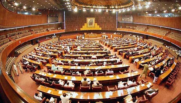 قومی اسمبلی، خورشید شاہ کی گرفتاری پر اپوزیشن کا احتجاج، اسپیکر سے تلخ کلامی