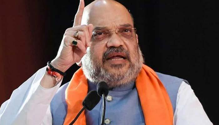 بی جے پی کے صدر و بھارتی وزیر داخلہ امیت شاہ کی دھمکی