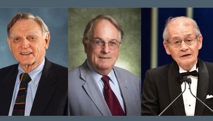 لیتھیم آئن بیٹری بنانیوالے 3 سائنسدانوں کیلئے کیمیا کا نوبل انعام