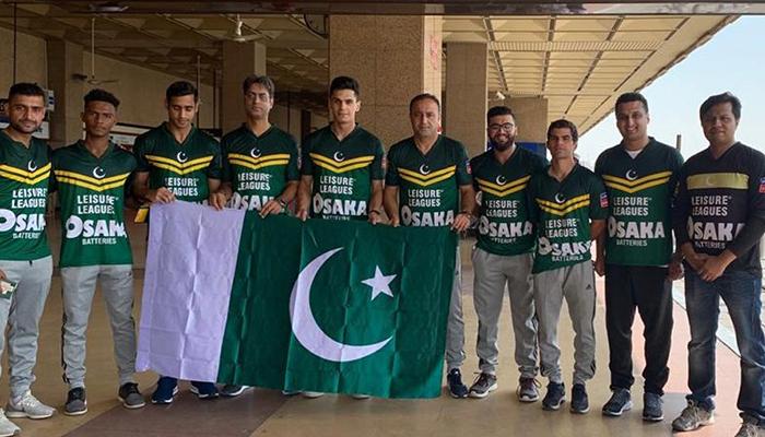 سوکا ورلڈکپ کیلئے پاکستانی ٹیم یونان پہنچ گئی
