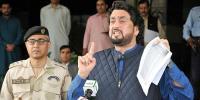 شہریار آفریدی نے رانا ثنا کیس میں تاخیر کا ملبہ وزارت قانون پر ڈال دیا